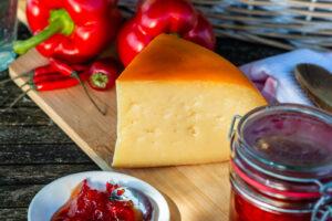 Berwick Edge and chilli jam french toast